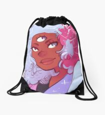 The Answer is Love Drawstring Bag
