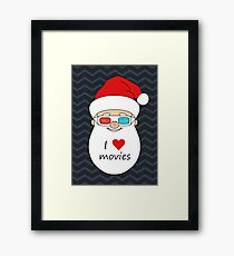 Smiling Santa Claus 4 Framed Print