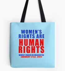 Womens' Rights are Human Rights Unisex Tote Bag