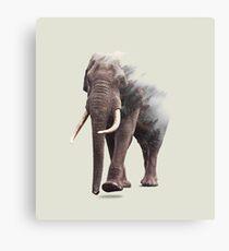 Elephantastic #redbubble #lifestyle Canvas Print