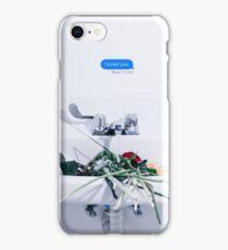 i loved you iPhone Case/Skin