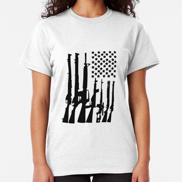 Taurus Firearms Script Black Logo T Shirt 2nd Amendment Pro Gun Rifle Pistol Tee