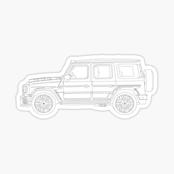 G Wagon Autoaufkleber Sticker