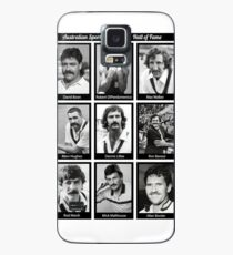 Aussie Moustache Hall of Fame by Decibel Clothing Case/Skin for Samsung Galaxy