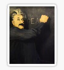 Einstein's Message Sticker