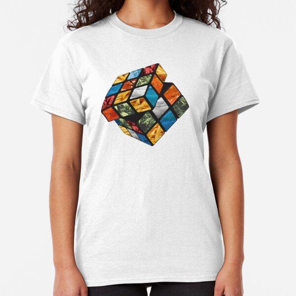 Cube T-shirt Femmes Big Sheldon Cube Escher Cooper PENROSE TRIANGLE Theory Bang