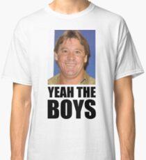Yeah The Boys - Steve Irwin Classic T-Shirt