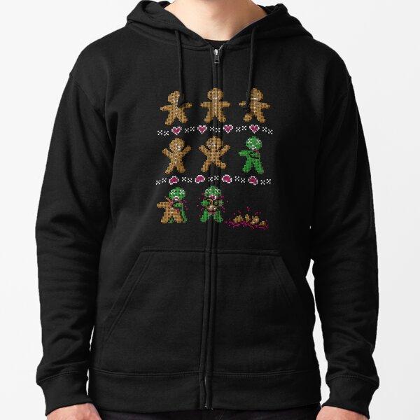 Gingerdead Sweater Zipped Hoodie