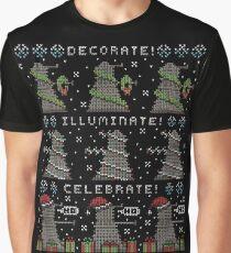 Decorate! Illuminate! Celebrate! Graphic T-Shirt