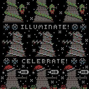 Decorate! Illuminate! Celebrate! by vonplatypus
