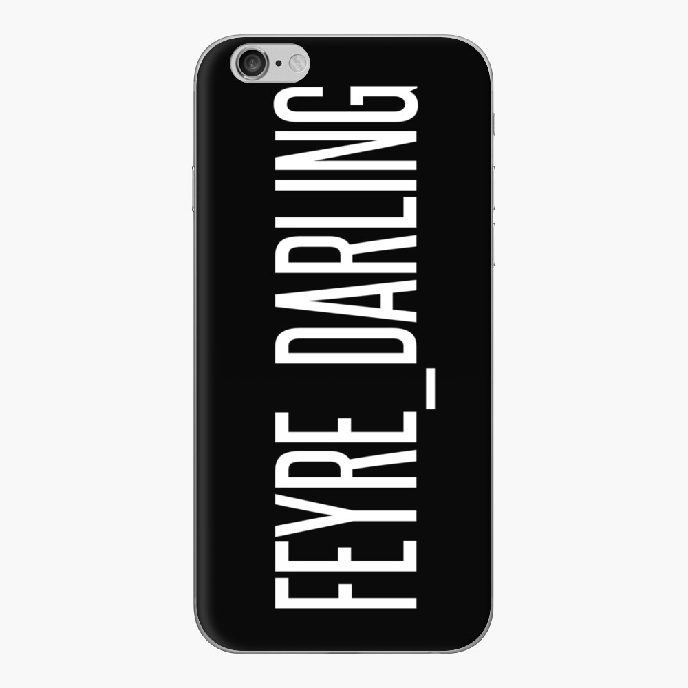 Feyre Liebling iPhone Klebefolie