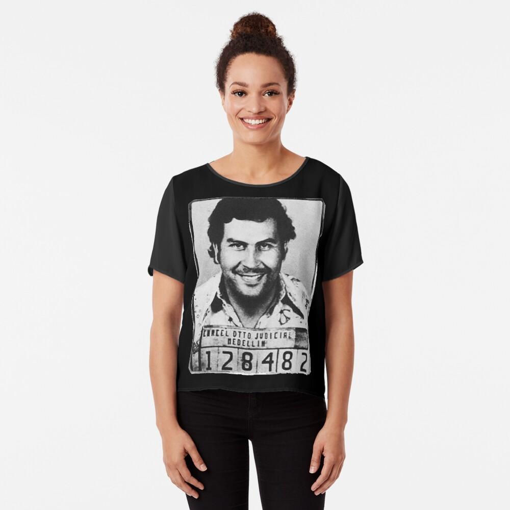 Escobar Mugshot Chiffon Top