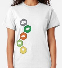 Settlers of Catan - Resource Tiles Classic T-Shirt