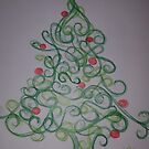 Christmas tree  by KathHanthorneAr