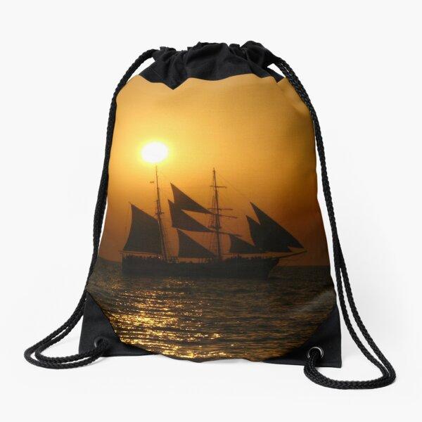 Starship Atlantis Drawstring Bag