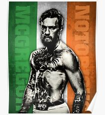 Conor McGregor Flag Poster