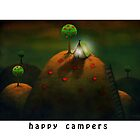 Happy campers by theArtoflOve
