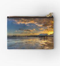 Sandown Pier Sunset Studio Pouch