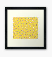 Pattern of Paranoia Framed Print