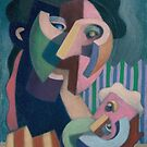 mother and son by Stephen McLaren