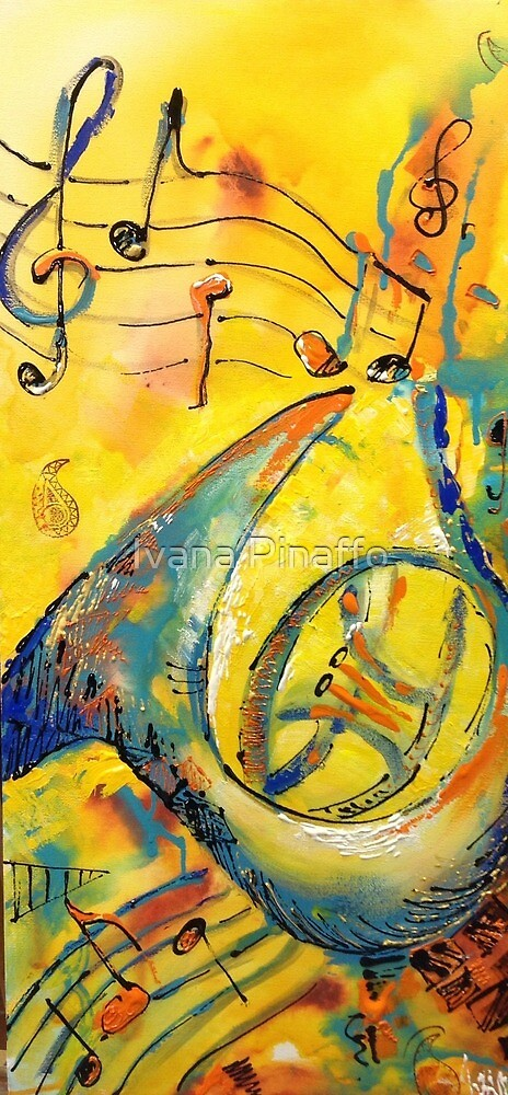 Music notes by Ivana Pinaffo
