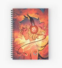 Let the Music Take You Spiral Notebook