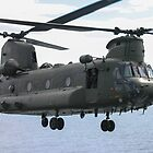 RAF Chinook up close and personal by captureasecond