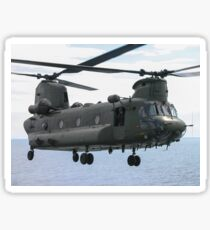 RAF Chinook up close and personal Sticker