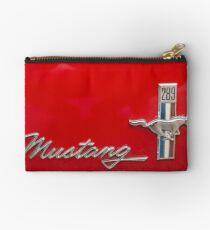Ford Mustang Zipper Pouch