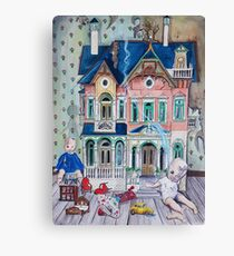 Dollhouse Ghosts Canvas Print
