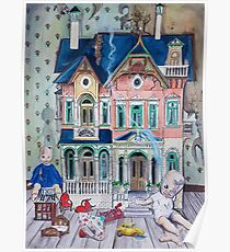 Dollhouse Ghosts Poster
