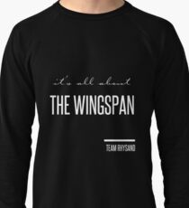it's all about the wingspan Lightweight Sweatshirt