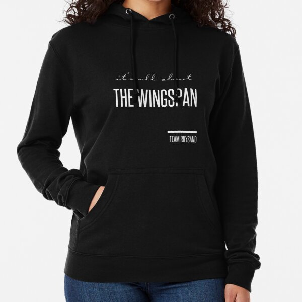 it's all about the wingspan Lightweight Hoodie