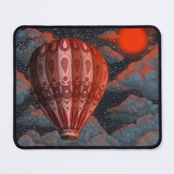 Adventure Awaits - Hot Air Balloon  Mouse Pad