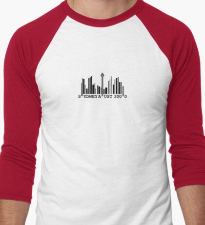 Sydney Skyline Barcode T-Shirt