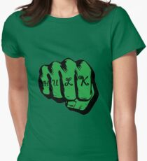 hulk Womens Fitted T-Shirt