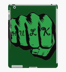 hulk iPad Case/Skin