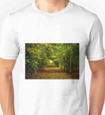 Walking in the woods Unisex T-Shirt