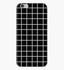 Vinilo o funda para iPhone Cuadrícula estética