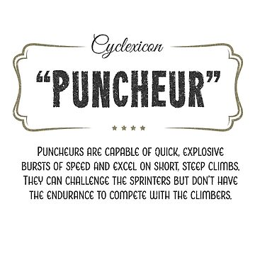 Cyclexicon: Puncheur by kaipehkonen