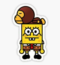 SpongeBape Sticker