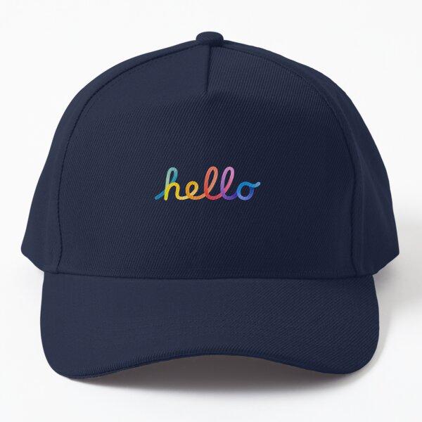 hello Spring Loaded rainbow   Baseball Cap