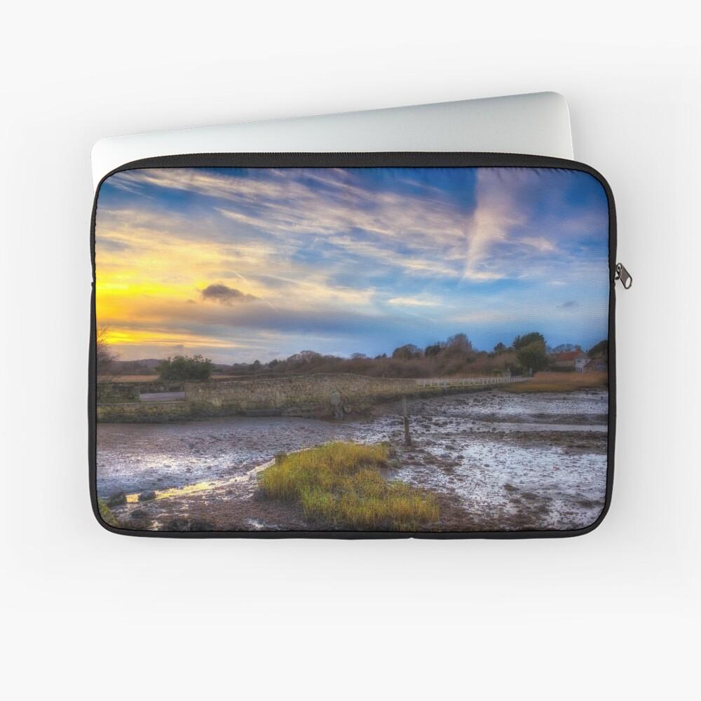 Causeway Sunset Laptop Sleeve