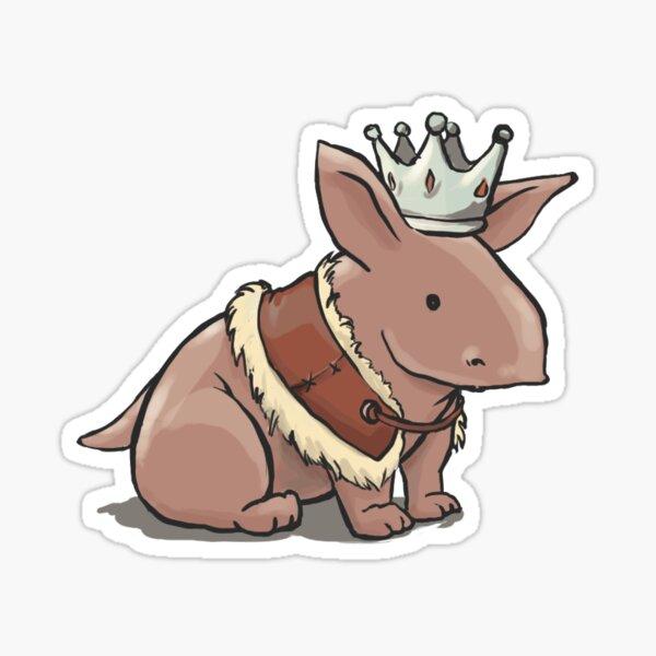 King Alistair, nug version Sticker