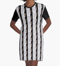Sometimes I Dream Of This - de Cleyre Graphic T-Shirt Dress