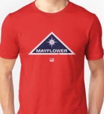 Project Mayflower (aged look) Slim Fit T-Shirt