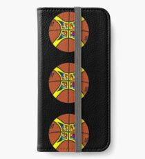 FIBA official basketball, without text iPhone Wallet