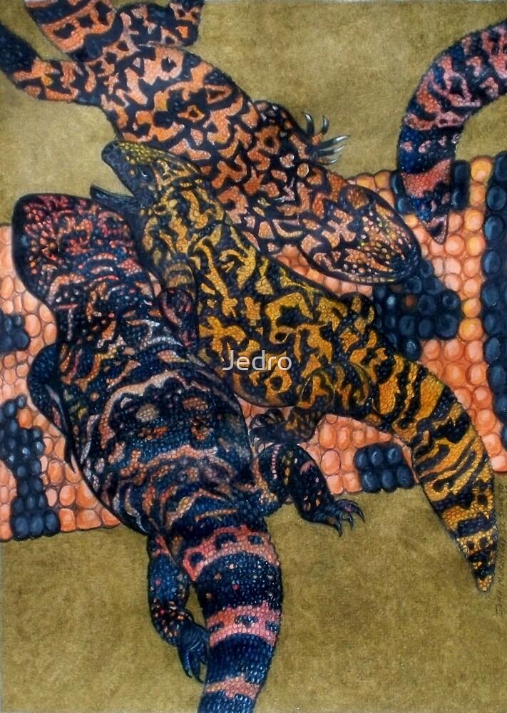 Animal Skins: Gilla Monster by Jedro