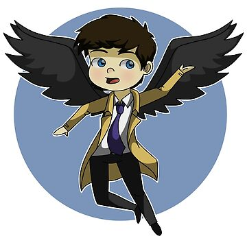 Castiel by bambi-drawings