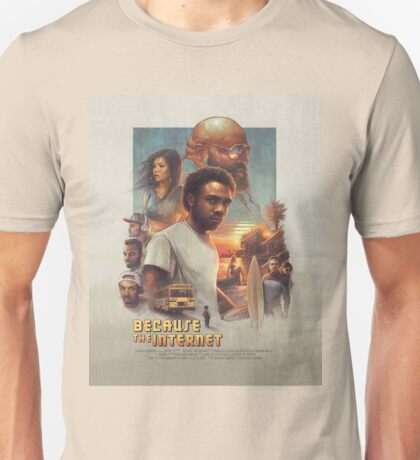 Because The Internet Movie Poster Unisex T-Shirt